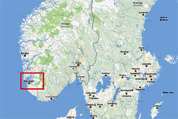 Karta Norge Stavanger.Lysefjorden Norway Karta Information
