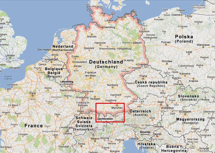 munchen karta Karta och information på Neuschwanstein munchen karta