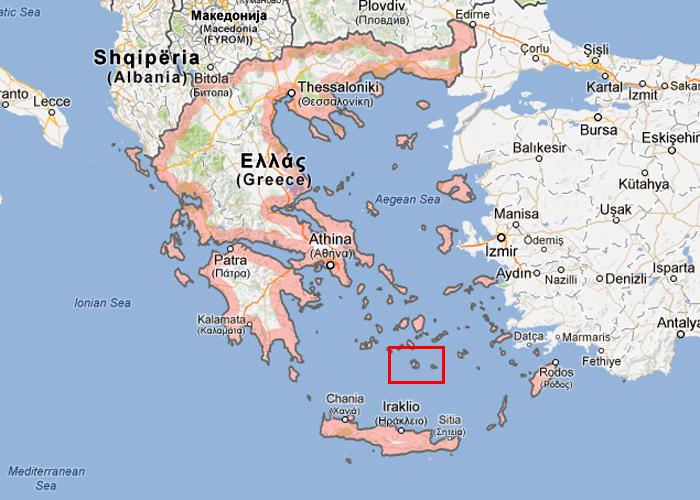 karta grekiska övärlden Bilder, karta och information på Santorinin, Grekland karta grekiska övärlden